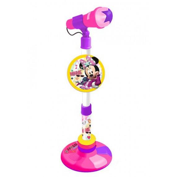 Állványos játék mikrofon REIG Minnie egér rózsaszín