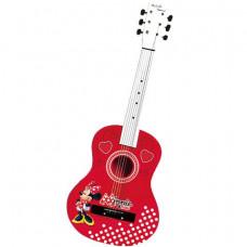 Akusztikus fa játék gitár 65 cm REIG Minnie egér 5255  Előnézet