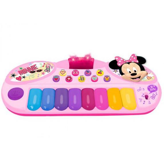 REIG 5533 Minnie egér 8 billentyűs zongora
