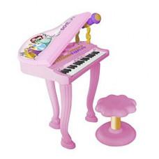 REIG Disney Hercegnők elektromos zongora ülőkével 5299 Előnézet