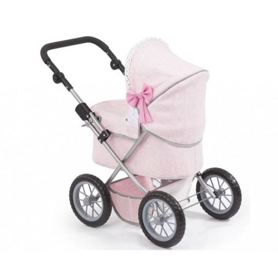 Játék babakocsi 67x41x68 cm REIG Trendy Luxus - Rózsaszín