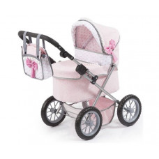 REIG Trendy Luxus Játék babakocsi 67x41x68cm - Rózsaszín Előnézet