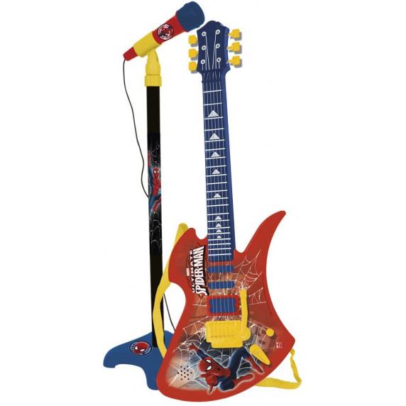 Állványos mikrofon 6 húros gitárral REIG Pókember