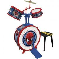Játék dobfelszerelés ülőkével REIG Pókember