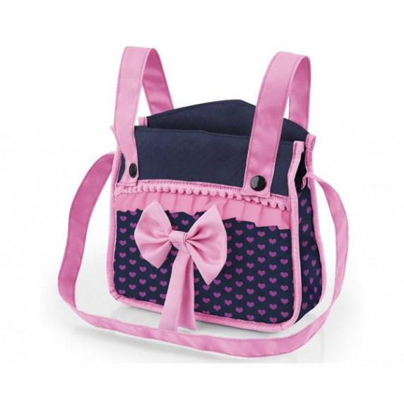 Játék babakocsi 67x41x68 cm REIG Trendy Luxus - Kék/rózsaszín