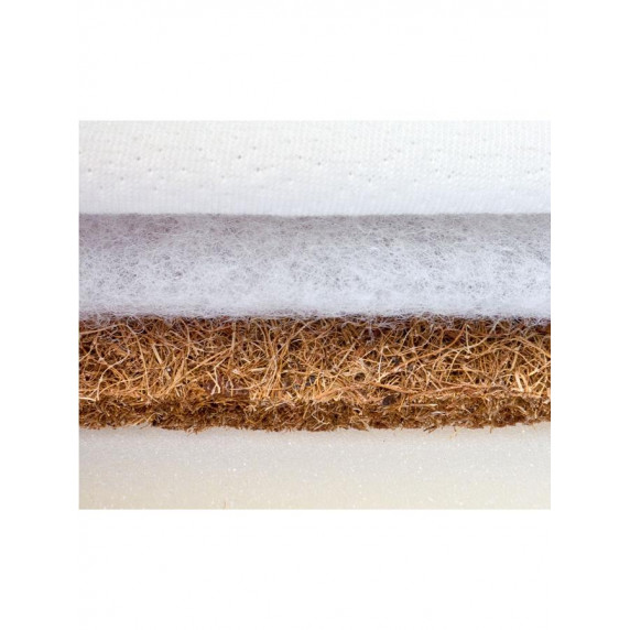 SENSILLO Luxe kókusz-molitán-kókusz matrac 120x60 cm Aloe Vera