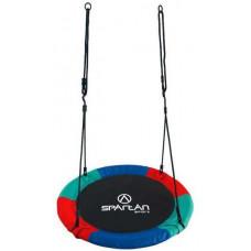 Fészekhinta SPARTAN Fun Ring 95 cm - háromszínű Előnézet