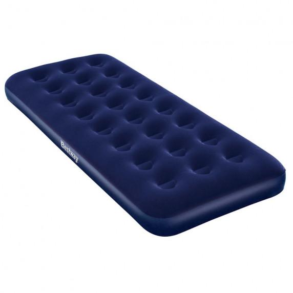Felfújható velúr matrac vendégágy 185x76x22 cm BESTWAY 67000