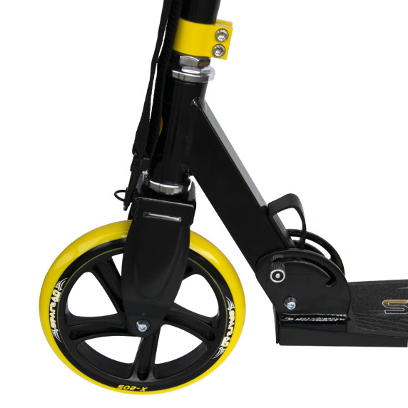 Roller SPARTAN Jumbo 205 mm - Fekete/sárga