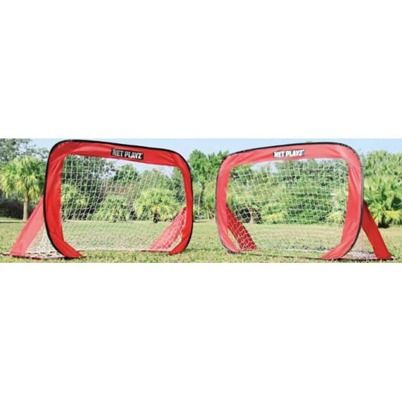 Összehajtható focikapu szett SPARTAN Pop Up Soccer Goal 125x80 cm