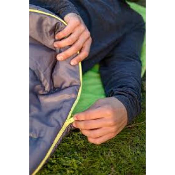 Hálózsák BESTWAY 68102 Pavillo Hibride 220x75x50 cm - szürke/zöld
