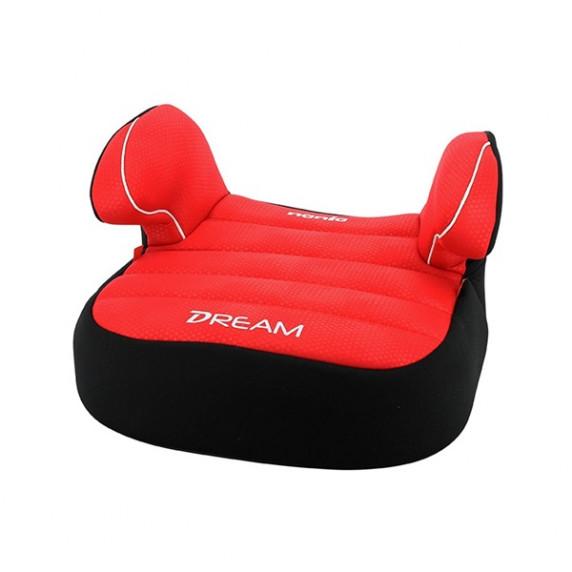 Autósülés ülésmagasító Nania DREAM LUX 2019 15-36 kg - piros