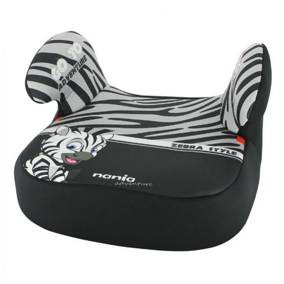 Autósülés ülésmagasító Nania ANIMALS Dream 2020 15-36 kg - Zebra