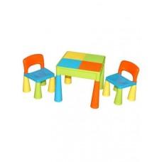Tega Mamut gyerekasztal székekkel - színes Előnézet