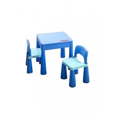 Tega Mamut gyerekasztal székekkel - kék Előnézet