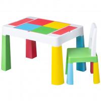 Tega Multifun gyerekasztal székkel- multicolor