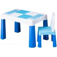 Tega Multifun gyerekasztal székkel - kék Előnézet