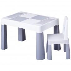 Tega Multifun gyerekasztal székkel - szürke Előnézet