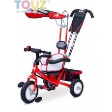 Toyz Derby tricikli tolókarral - piros Előnézet