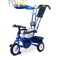 Toyz Derby tricikli tolókarral - kék