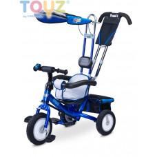 Toyz Derby tricikli tolókarral - kék Előnézet