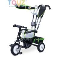 Toyz Derby tricikli tolókarral - zöld