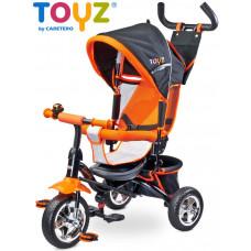 Toyz Timmy tricikli tolókarral - narancssárga Előnézet