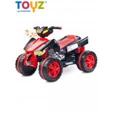 Toyz Raptor elektromos négykerekű - piros Előnézet