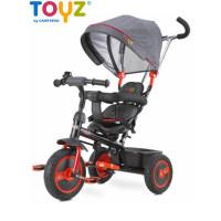 Toyz Buzz tricikli tolókarral - narancssárga
