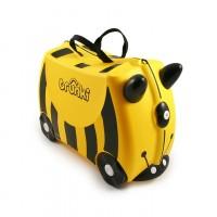 TRUNKI gurulós gyerek bőrönd - Méhecske