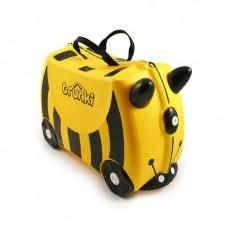 TRUNKI gurulós gyerek bőrönd - Méhecske Előnézet