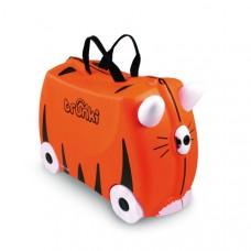 TRUNKI gurulós gyerek bőrönd - Tigris Előnézet