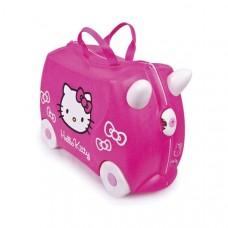 TRUNKI gurulós gyerek bőrönd - Hello Kitty Előnézet