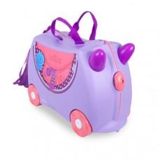 TRUNKI gurulós gyerek bőrönd - Bluebell póni Előnézet