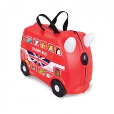 TRUNKI gurulós gyerek bőrönd - Boris autóbusz Előnézet