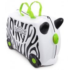 TRUNKI gurulós gyerek bőrönd - Zebra Előnézet