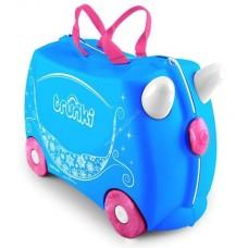 TRUNKI gurulós gyerek bőrönd - Pearl Előnézet