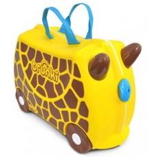 TRUNKI gurulós gyerek bőrönd - Zsiráf Előnézet