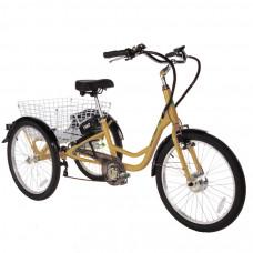 ULTIMATE TRIO arany elektromos kerékpár Előnézet