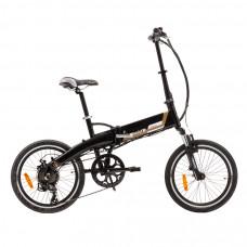 ULTIMATE CAMPING matt fekete elektromos kerékpár Előnézet