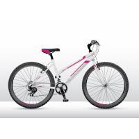 """VEDORA Connex M100 LADY gyerek kerékpár fehér-rózsaszín 26"""""""