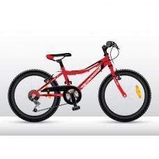 """Vedora Intro 200 kislány kerékpár 20"""" - Piros Előnézet"""