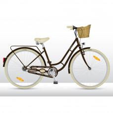 VEDORA Elegance 28 Plus női kerékpár - Barna Előnézet