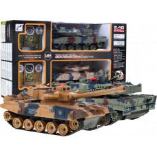 RC Tank Leopard Szett Előnézet