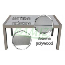 InGarden luxus kerti asztal POLYWOOD Előnézet